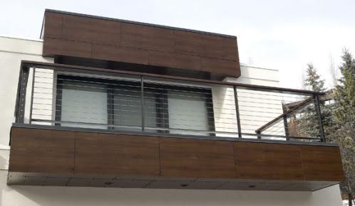 Materiales Para Fachadas Exteriores De Casas. Ecoclad With ...