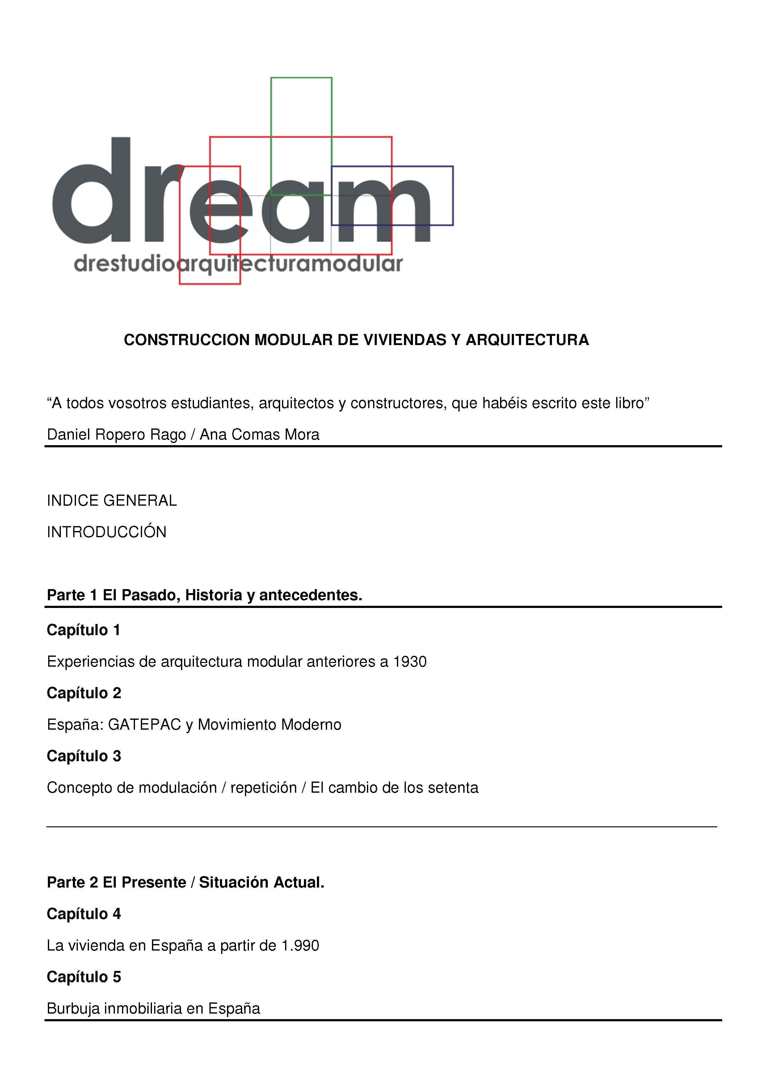 Documento construcci n modular de viviendas y for Estudio de arquitectura en ingles