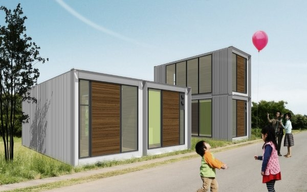 Ex container casas con 2 contenedores de carga blog eraikal - Precio casa container ...